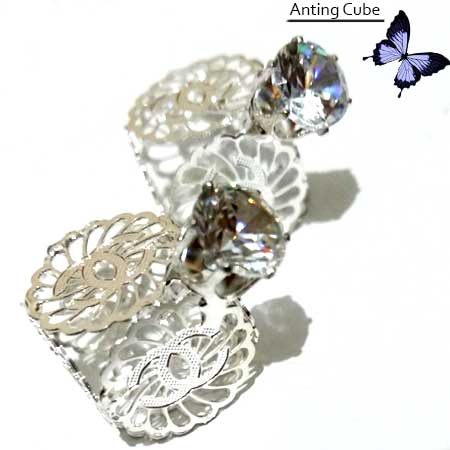 ANTING CUBE isi 2 SILVER