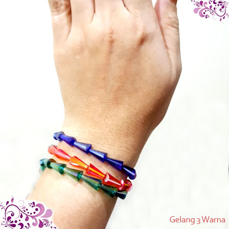 GELANG 3 WARNA DARK