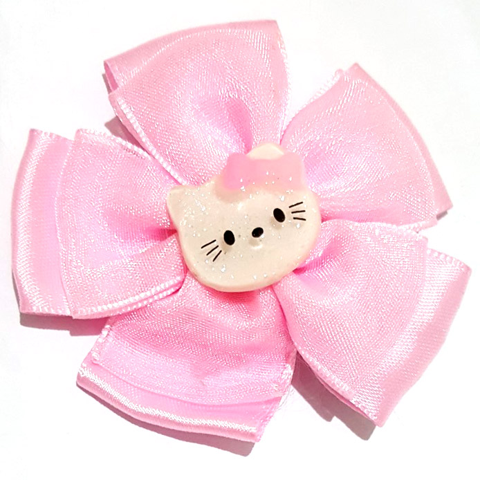 JEPIT HELLOKITTY SATIN - PINK SOFT