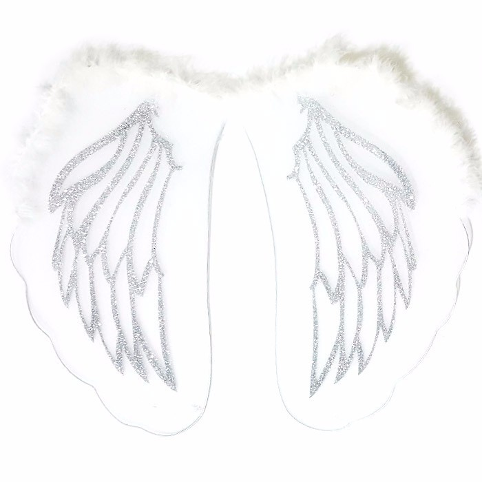 ANGEL WINGS - SAYAP ANGEL - WHITE