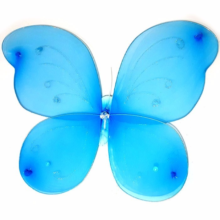 BUTTERFLY WINGS - SAYAP KUPU - BLUE