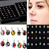 ANTING HIDUNG MOTIF isi 12 ( nose stud )