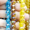 BEADS KRISTAL 8 isi 24 - YELLOW