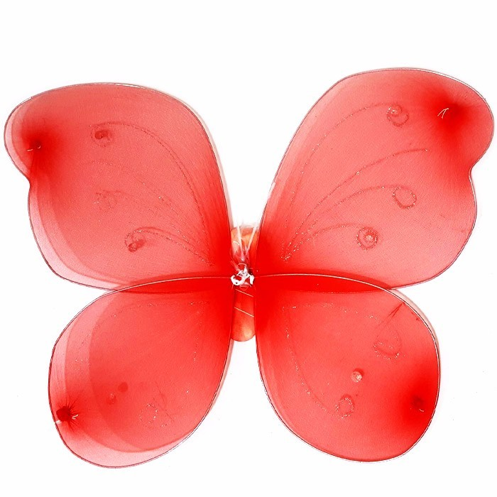 BUTTERFLY WINGS - SAYAP KUPU - RED