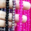BEADS KRISTAL 6 isi 24 - PINK