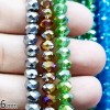 BEADS KRISTAL 6 isi 24 - BROWN