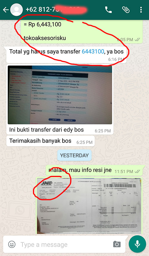 REAL TESTIMONI at tokoaksesorisku.com